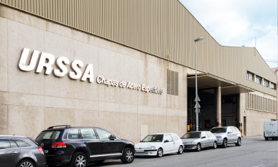 Urssa steel in Spain