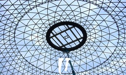 Estructura cúpula en acero